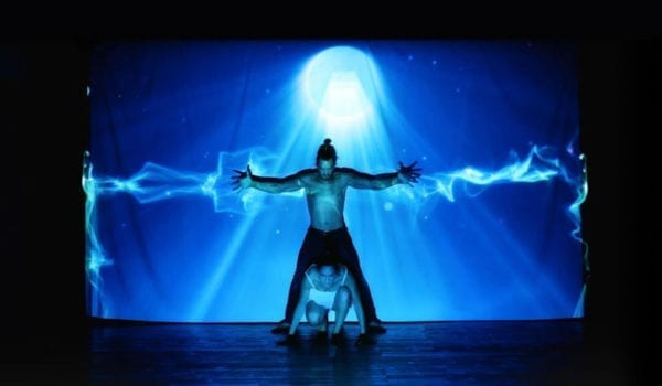 4D MAPPING DANCE SHOW